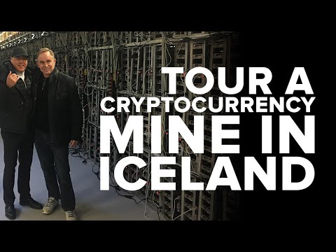 Iceland cryptocurrency mining project