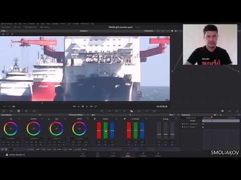 Как повысить резкость видео если промазали по фокусу во время съемки в DaVinci Resolve