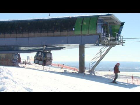 В Хибинах в самом разгаре горнолыжный сезон!