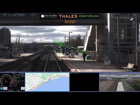 Thales, Invision AI and Metrolinx Successfully Advance Autonomous Rail
