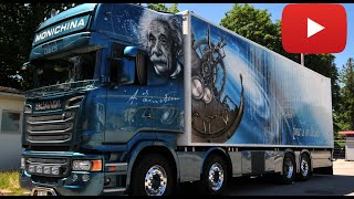 Monichina - Scania R Topline Einstein Showtruck