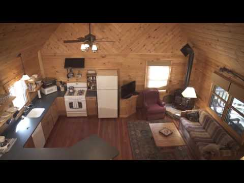 Log Cabin For Sale In Waterboro, Maine
