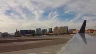 Airplane take off daytime - Las Vegas McCarran int airport