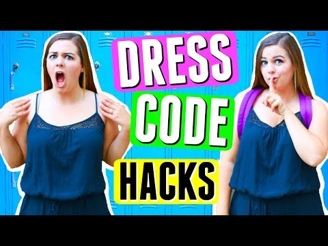 SAVAGE DRESS CODE HACKS FOR SCHOOL!! BACK TO SCHOOL 2017 LIFE HACKS!