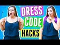 Savage Dress Code Hacks for Back to School! Sierra Schultzzie!