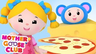 Baby Songs | Let's Make Pizza | Learn Colors with Animation Toys | kids Songs Mother Goose Club