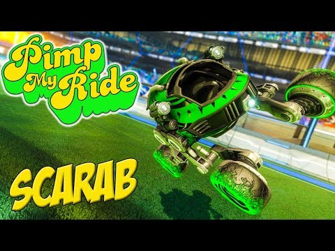 PIMP MY ROCKET LEAGUE RIDE - SCARAB
