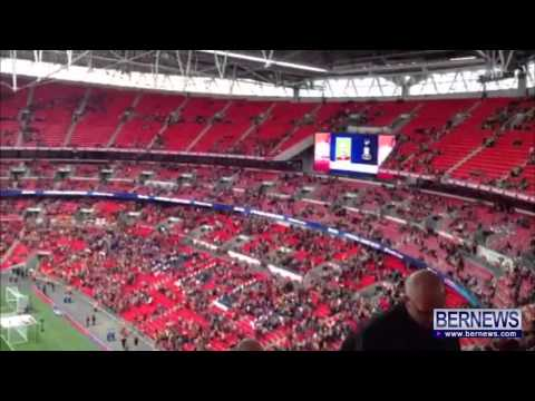 Nahki Wells Announced At Bradford Wembley Game, May 18 2013