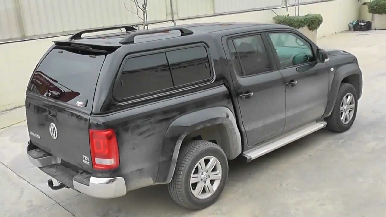 at vw amarok abs canopy off road 4x4 accessories volkswagen hard top vs. Black Bedroom Furniture Sets. Home Design Ideas