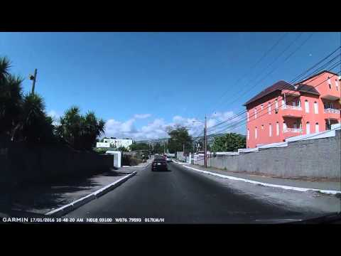 Kingston Jamaica - Driving Part #3