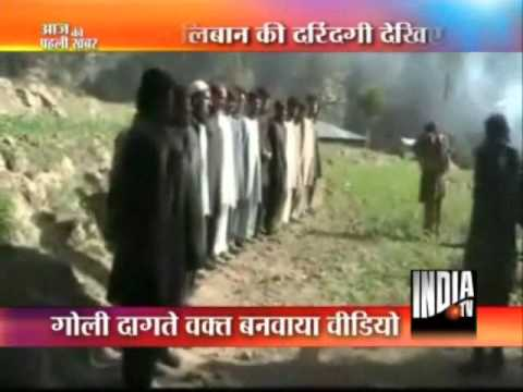 Taliban Execute 16 Pakistan Policemen On Video - India TV