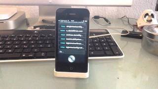 iphone 4 s siri deutsch demo teil 1