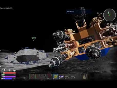 Very Fast Ore Mining with Hover Vessel on Planet | Empyrion Galactic Survival New Video