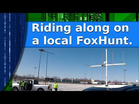 Ham Radio - Riding Along On The Local Club's Monthly Foxhunt