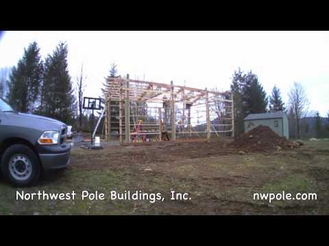 24x36 Time lapse by NW Pole Buildings, Inc