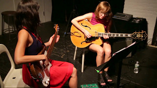 Jessica Pavone & Mary Halvorson [bass & guitar] - at The Stone, NYC - July 28 2016