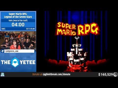 Super Mario RPG (100% - Most Of The Stuff) By Pidgezero_one (RPG Limit Break 2019 Part 53)