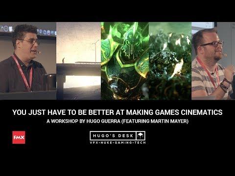Nuke Compositing Tips and tricks for Games Cinematics - FMX 2018 - Workshop