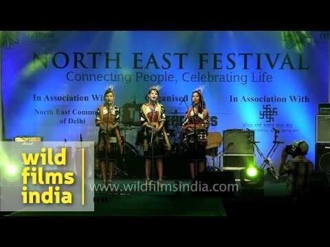 Hiyo hey Delhi! Tetseo Sisters at North East Festival