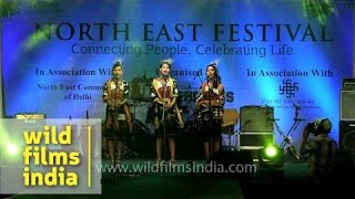 Hiyo hey Delhi! Tetseo Sisters at North East Festival
