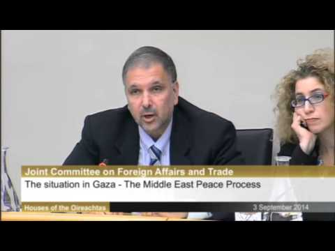 Richard Boyd Barrett- Israel is not a normal state and should not be treated as such