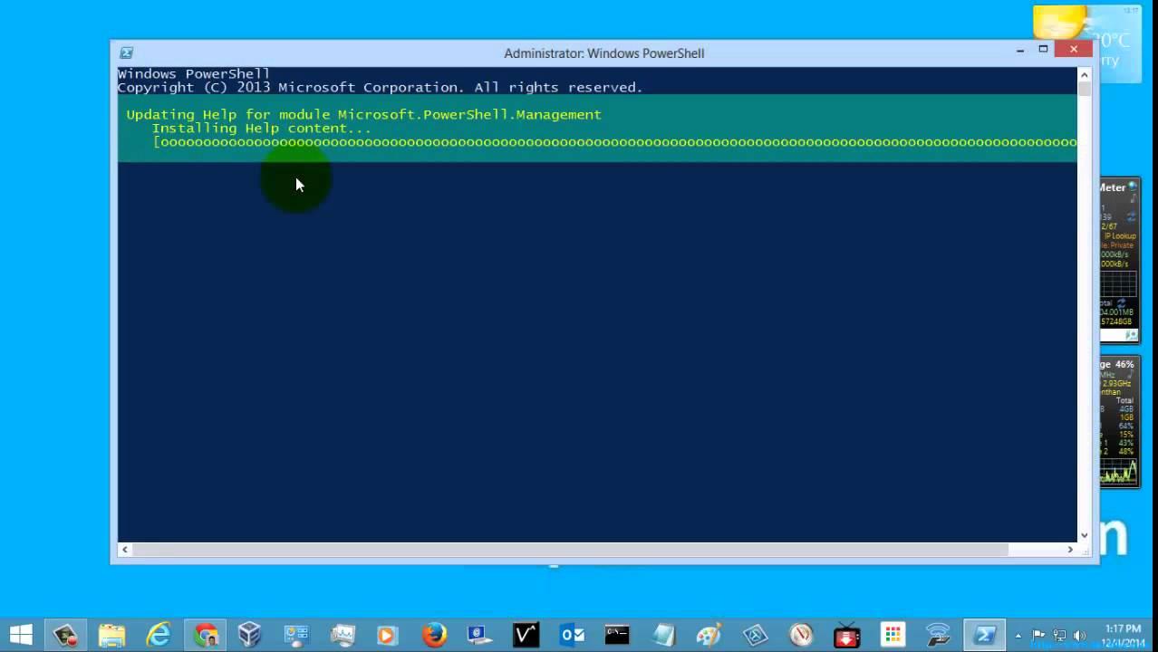 windows 7 powershell update