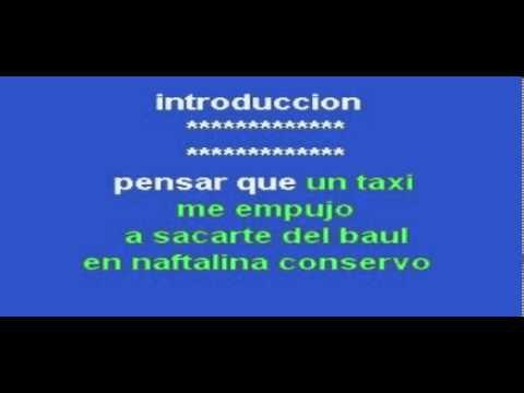 El blues de la soledad  Miguel Rios-Karaoke