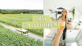 Our first VAN LIFE experience! A HUGE road trip to Europe!