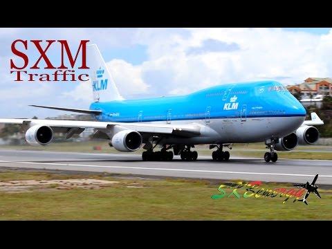 St Maarten Action !!! 747-400, 737, MD-82, ATR...Action @ the Princess Juliana Int'l Airport