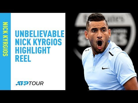This Nick Kyrgios Highlight Reel is UNREAL 😮