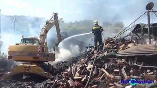 Φωτιά σε επιχείρηση ξυλείας στο Κορωπί