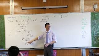 Chain Rule (3 of 3: Proving a circle property)