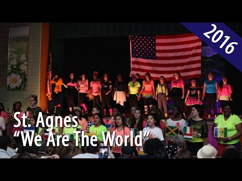 "St. Agnes Academic High School: Fine Arts Festival ""We Are the World"""