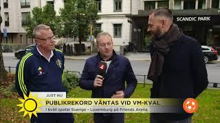 Nu avgörs det – ska Sverige ta sig till VM? - Nyhetsmorgon (TV4)