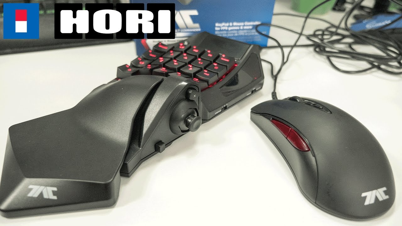 hori tac pro review ps4 mouse and keyboard youtube. Black Bedroom Furniture Sets. Home Design Ideas