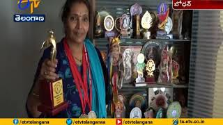 Madhavi Gets Chance in  National Yoga Championship as a Judge | at Bodhan