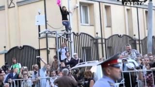 Приговор по делу Pussy Riot(В пятницу 17 августа группе Pussy Riot был вынесен приговор: каждая из подсудимых приговорена к двум годам лишени..., 2012-08-17T20:02:05.000Z)
