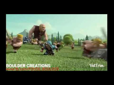 clash of clans animation tamil song