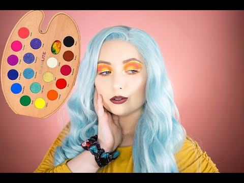 SUNSET VIBES EYESHADOW | GLAMLITE PAINT PALETTE thumbnail