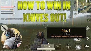 HOW TO WIN A ROUND IN KNIVES OUT! BEST FORTNITE MOBILE GAME!