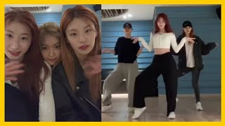 ITZY Dancing Lightly in the Practice RoomㅣNCT, BLACKPINK, TWICE