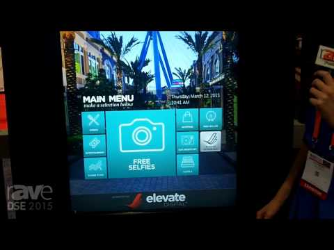 "DSE 2015: Elevate Demos Digital Interactive ""Concierge"" Digital Software for Hospitality Settings"