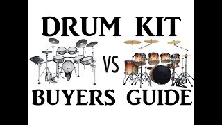 Drum Kit Buyers Guide