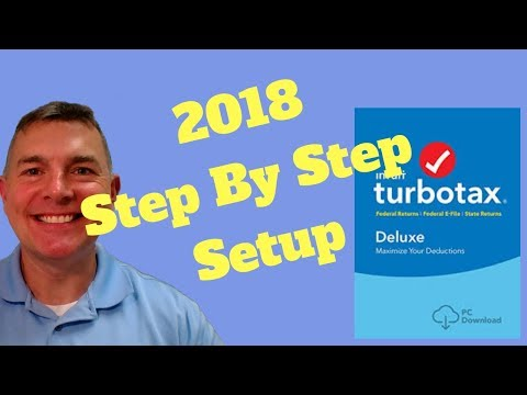 TurboTax for 2018 Tax Returns - Easy!