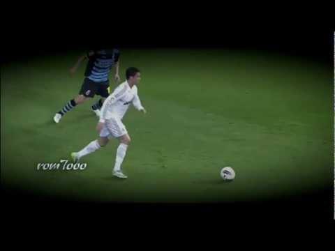 Cristiano Ronaldo và những pha chuyền bóng kỹ thuật.