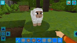 AdventureCraft 3D Block Building & Survival Craft Gameplay #10 (Android)| Drawings,Forgotten Village