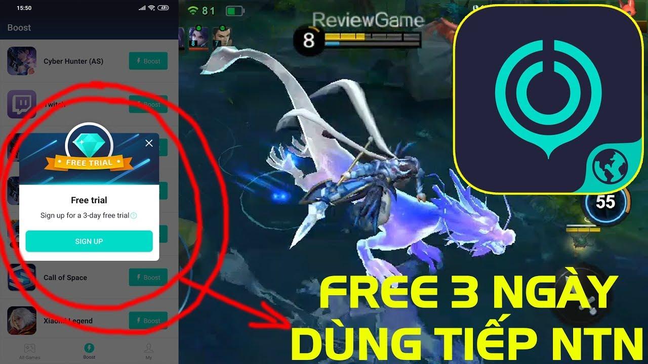 UU Game Booster – Cách Dùng Vĩnh Viễn Khi Hết 3 Ngày Free, App Giảm Ping Cực Ngon Game Trung Quốc