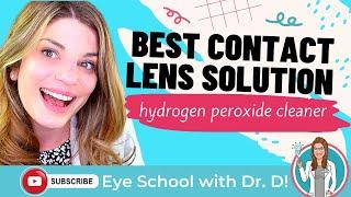 Hydrogen Peroxide Contact Lens…