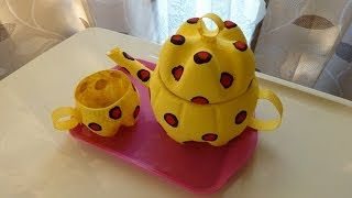 Plastic Soda Bottle Crafts: Making A Teapot