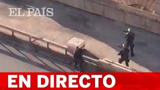DIRECTO LONDRES | Un detenido y CINCO HERIDOS por un ATAQUE con CUCHILLO en el puente de Londres